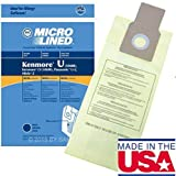 kenmore upright 50690 - 20 Bags for Kenmore Upright Vacuum 5068 50688 50690 Type U O Microlined