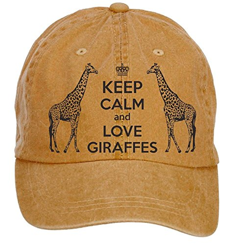 Sungboys Unisex Giraffes Sports Baseball Hats Caps (Adjustable Hat Womens Charlie)