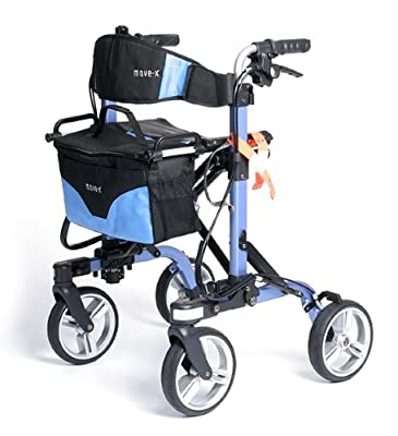 Mobility Scooter MOVE-X Folding Mobility Rollator Extremely Light Weight By SaferWholesale