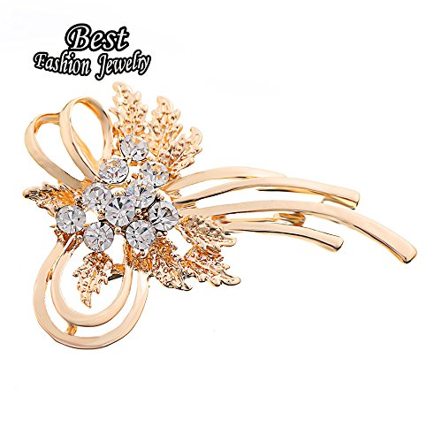 Golden Bow Brooch - 3