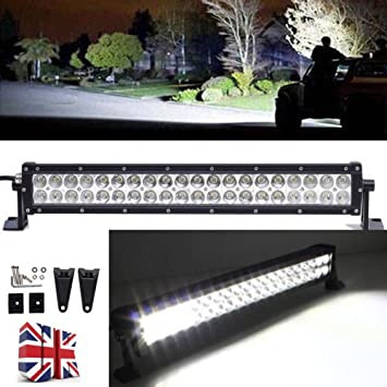 2017 newest 12v 24v 120w high brightness led work light bar flood 2017 newest 12v 24v 120w high brightness led work light bar flood spot combo beam driving mozeypictures Choice Image