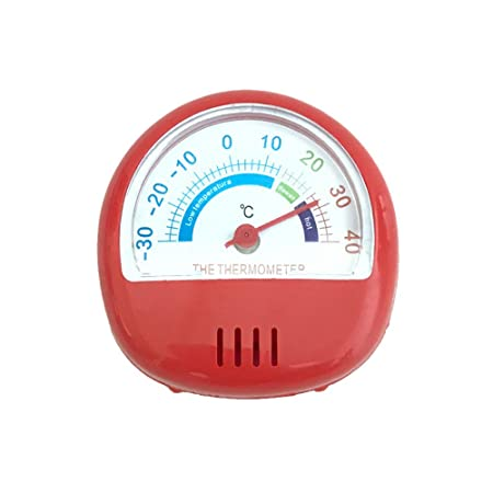 LiPing - Termómetro de cocina con esfera clásica para frigorífico ...
