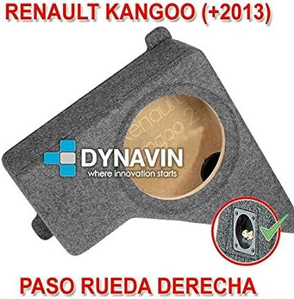 RENAULT KANGOO (+2013). RUEDA DERECHA - CAJA ACUSTICA PARA ...