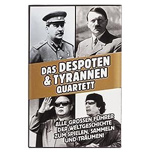 Tyrannen & Despoten Quartett - Das Diktatoren Kartenspiel die 32 übelsten...