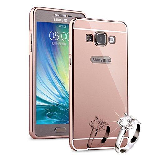 34 opinioni per HICASER Alluminio Metallo Custodia per Samsung Galaxy A3 Lusso Bumper Case +