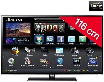 Televisor LED Smart TV UE46ES5500: Amazon.es: Electrónica