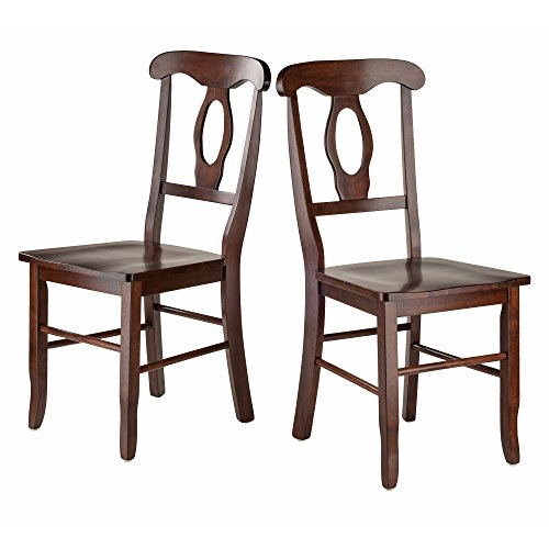 Winsome Wood 94208-WW Renaissance Seating, - Chairs French Walnut