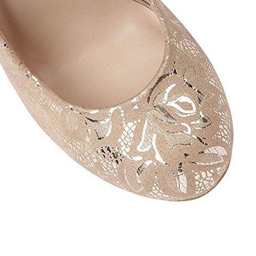 Lotus Clancy Court Shoes Nude Bloemenprint