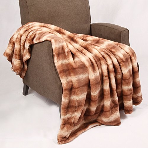 Home Soft Things Animal Faux Fur Throw Blankets, 50