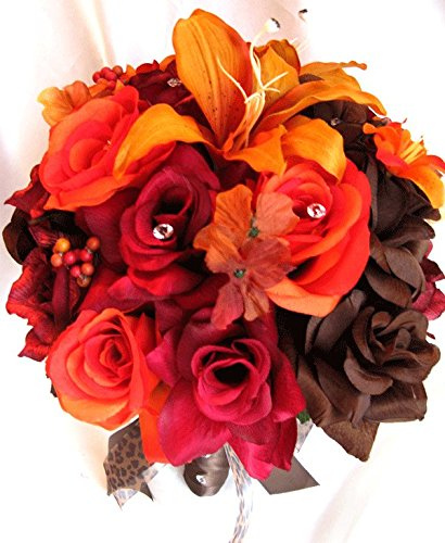Review Wedding bouquets Bridal Silk