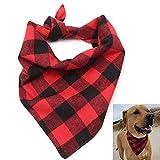 Pensenion Dog Bandana Collar Pet Scarfs Cute Triangle Bibs for for Small Medium Large Dogs Cats
