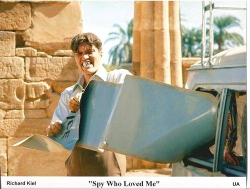 James Bond 007 The Spy Who Loved Me Richard Kiel as Jaws Lobby Card 8 x 10 Photo