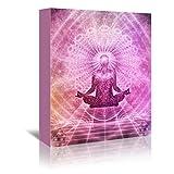 Americanflat Gallery Wrapped Canvas - Yoga Meditation Faith Buddha - Wonderful Dream, 32'' x 48''