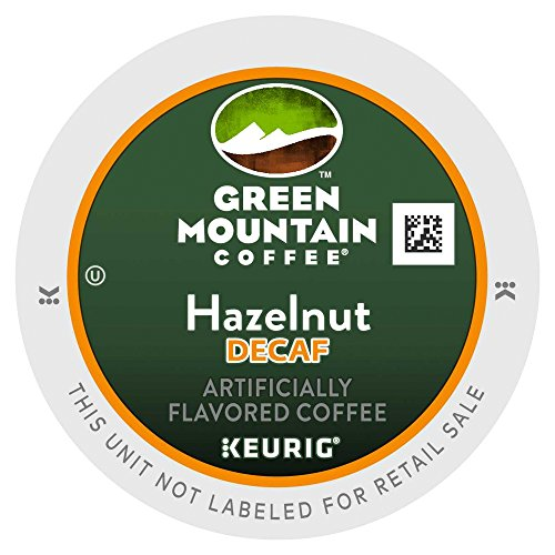 (Green Mountain Coffee Hazelnut Decaf K-Cups for Keurig Brewers - 18 K-Cups)
