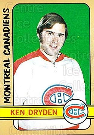 Amazoncom Ci Ken Dryden Hockey Card 1972 73 Topps 160