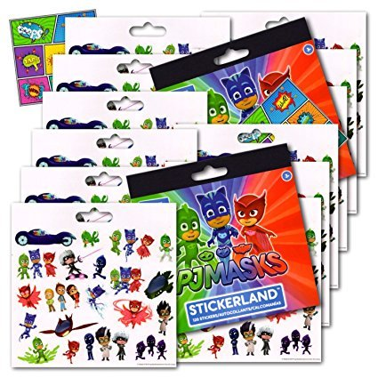 PJ Masks Stickers Party Favors - Bundle