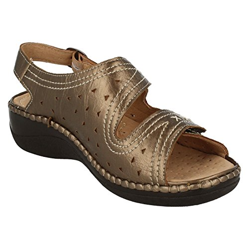 Ladies Sandpiper Summer Sandals - Sun Bronze GAi9XW7ct2