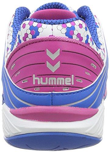 hummel HUMMEL OMNICOURT Z6 Damen Hallenschuhe Weiß (White / Rose Violett / Directoire B 9798)