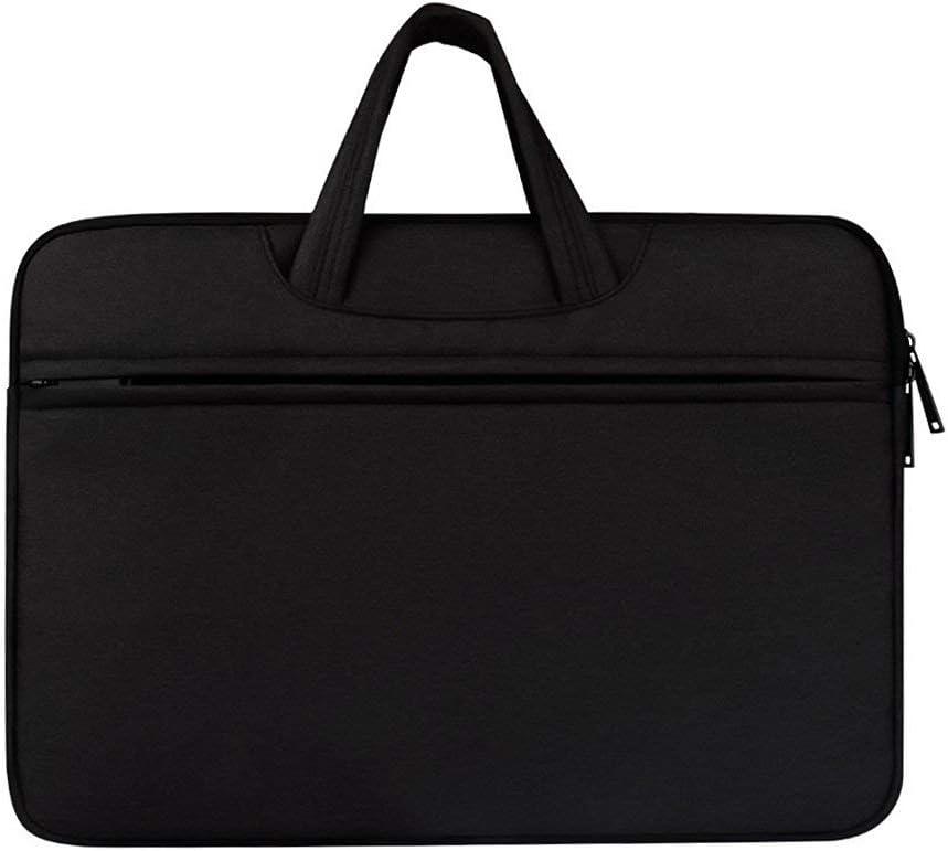 Nubstous Stylish Women Men Laptop Briefcase Messenger Bag Tablet Document Carry Travel Office Black