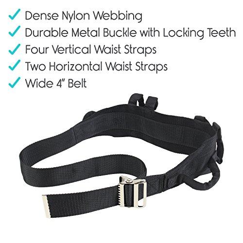 Transfer Belt With Handles By Vive Medical Nursing