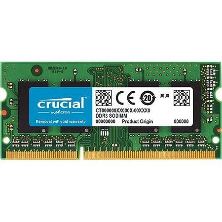 Crucial CT102464BF160B 8GB 1600MHz DDR3L 204-Pin Laptop Memory