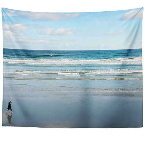 (Westlake Art - Beach Shore - Wall Hanging Tapestry - Picture Photography Artwork Home Decor Living Room - 68x80 Inch (81059))
