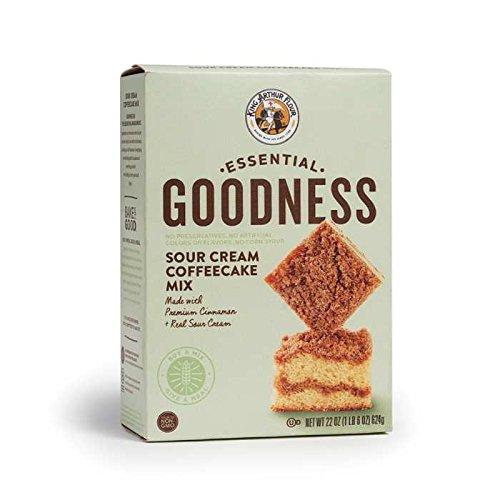 Essential Goodness Sour Cream Coffeecake Mix 22 oz (Pack of 3)