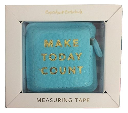 Make Today Count Boss Girl Gold Hot Stamped Measuring Tape in Gift Box by Cupcakes & Cartwheels