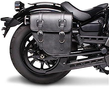 Satteltasche Für Honda Shadow Vt 125 C Texas Schwarz Rechts Auto