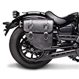 vn 900 saddlebags - Saddlebag Kawasaki VN 900 Custom Texas Black right