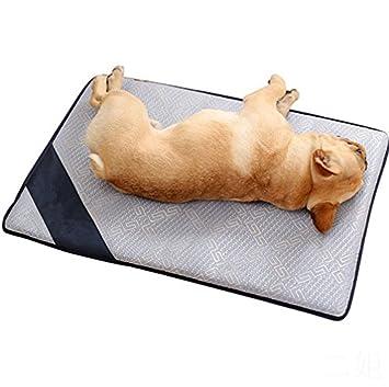 QNMM Colchón Fresco para Mascotas Colchoneta De Verano para Gatos, Colchoneta De Hielo, Colchoneta