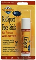 All Terrain KidSport SPF28 Natural Sunscreen Face Stick (0.6- Ounce)