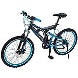 Benotto Bicicleta Rush MTB Acero R24 21V Hombre Sunrace Frenos Disco Delantero