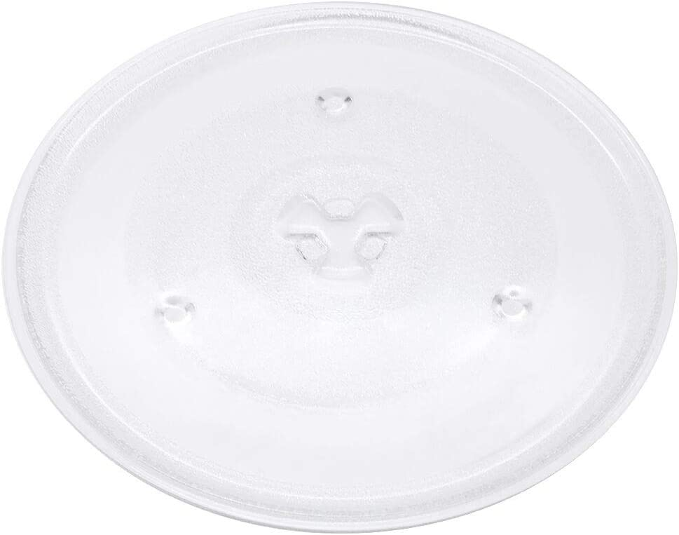 10.5-27CM D By Primeswift Turntable Tray Replacement for Emerson GE MW8999SB MW8999RD Microwave Glass Plate P23