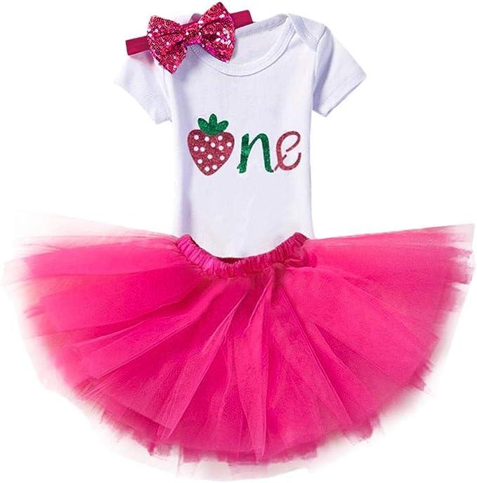 IBAKOM Disfraz para recién Nacido, bebé, niña, Fiesta de ...