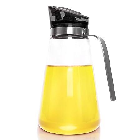 Dispensador de aceite, junnom aceite de cocina de acero inoxidable ...