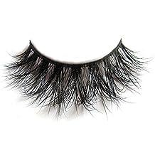 3D Mink Fur Fake Eyelashes 100% Siberian Mink Fur Hand-made False Eyelashes...