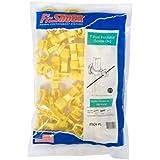 Fi-Shock ITSOY-FS Screw-On T-Post Insulator, Yellow