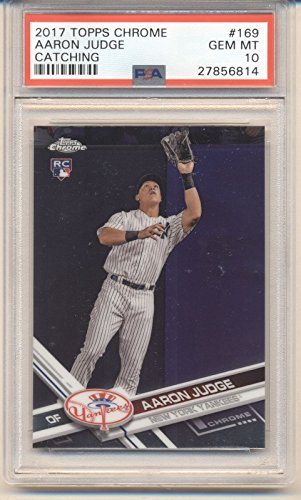 2017 TOPPS CHROME #169 AARON JUDGE Yankees RC Rookie for sale  Delivered anywhere in USA