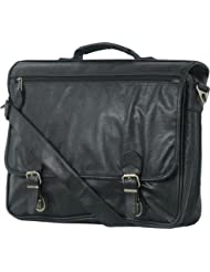 Simulated Leather Soft Expandable Attache