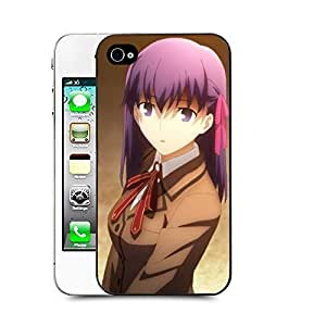 Case88 Designs Fate Stay Night Sakura Mat? Protective Snap-on Hard Back Case Cover for Apple Iphone 4 4s