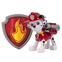 Paw Patrol Action Pack Pup & Badge, Marshall