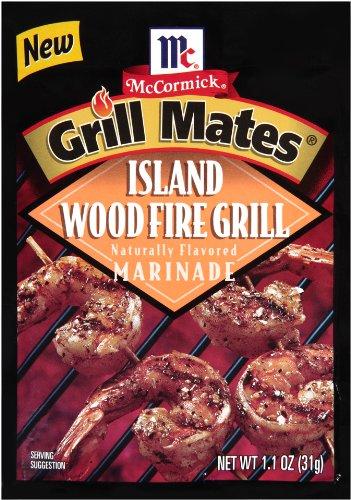 (Grill Mates Marinade, Island Woodfire Grill, 1.1 oz)