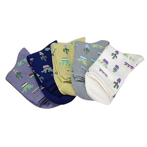 DEELIN Calcetines Para Las Mujeres Calcetines De Los Hombres 1 Par Adulto Unisex Lindo Casual Thicke Cactus ImpresióN Moda Calcetines Cortos: Amazon.es: ...