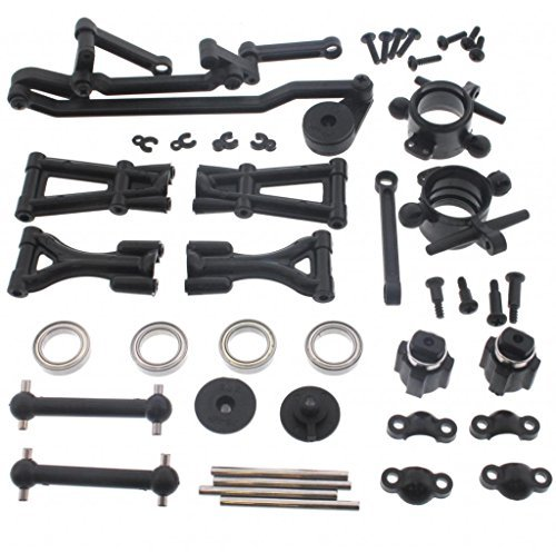 HPI 1/10 E10 Drift Mustang FRONT SUSPENSION ARMS DRIVE SHAFTS CARRIERS BEARINGS -