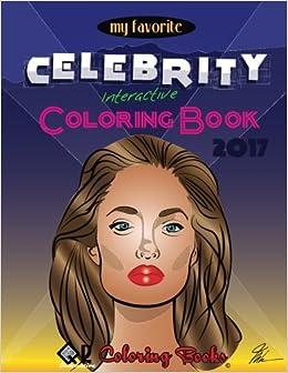 Amazon.com: My Favorite Celebrity Interactive Coloring Book ...