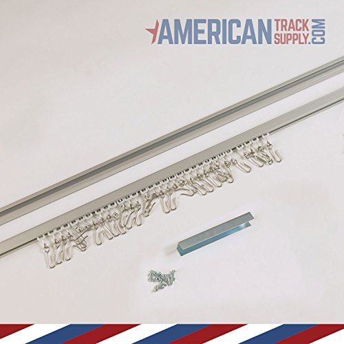Aluminum Ceiling Track (20 ft)