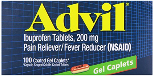 Advil Advanced Medicine for Pain Gel Caps, 100 count