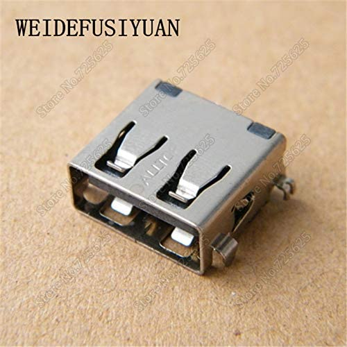 Computer Cables USB 2.0 Port Jack Socket Connector for Lenovo Y400 Y500 Y580 G40-30 G40-70 G40-80 Cable Length: 1PCS