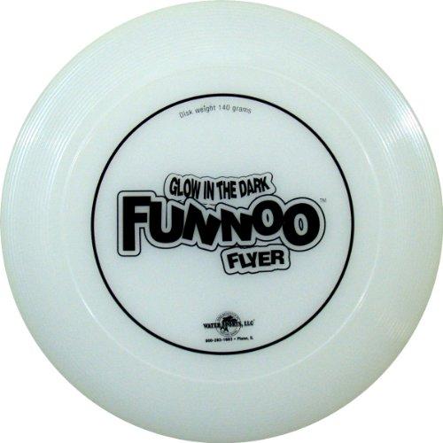 Water Sports Glow Funnoo Flyer Glow in Dark Outdoor Flying Disc
